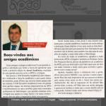 Editorial 1o Jornal Acadêmico APCD / Colgate