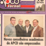 Capa Jornal APCD - Posse Julho/2009